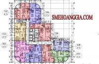 Bán CHCC SME Hoàng Gia, Tô Hiệu, Hà Đông, căn C4, tầng 20, DT 132m2, giá 17,2 tr/m2, 0969.947.369