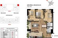 Bán gấp Imperia Garden 97.6 m1, 3PN, 2WC, giá 32 tr/m2