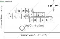 Tôi có căn hộ tại chung cư 60 Hoàng Quốc Việt cần bán, căn 2005: 100m2, giá 28 tr/m2: 0942952089