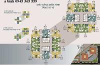 Chính chủ bản căn hộ 1603A tòa N04A Công Vụ Ngoại Giao Đoàn, Xuân Tảo. DT 67.88m2, giá bán TL