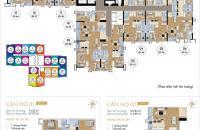 Cần bán gấp CC Goldmark City, CH 1602, Ruby 2, 124m2, giá 25 tr/m2. 0969.947.369