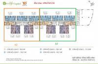 Bán căn hộ 10 tòa A2 DT 152m2 chung cư Ecolife Capitol, miễn phí 3 năm phí dịch vụ, giá 26tr/m2