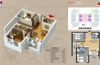 (0934542259) Cần bán căn hộ 65m2 chung cư 75 Tam Trinh, SĐCC giá 25tr/m2, full nội thất