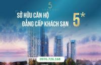 Bán căn hộ khách sạn tiêu chuẩn 5 * lần đầu tiên có mặt tại trung tâm quận Thanh Xuân, Hà Nội