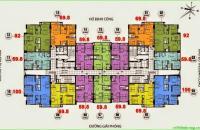 CT36 Định Công (Dream Home) bán CH tầng 1815, DT: 59,8m2, giá bán 22 triệu/m2 có giảm