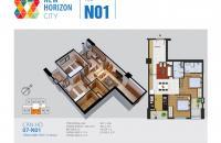 Chính chủ cần bán căn hộ số 09, tầng 16, diện tích 75,16m2, tòa N01, giá 26 tr/m2; 0934486669