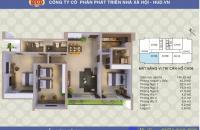 Bán căn hộ 134m2, Tây Nam Linh Đàm, giá 21 triệu 1m2. LH: 0943.545.949