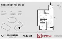 Bán căn hộ chung cư Imperia Plaza 360 Giải Phóng
