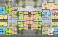 Bán CH dự án Five Star Garden 72.2m2, 2PN căn 09 tầng 16, giá rẻ 22.8 tr/m2