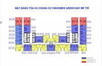 Chỉ 170tr = 20% GTCH sở hữu căn hộ đa năng cao cấp Vinhomes Green Bay