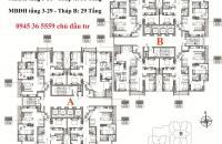 Bán căn hộ Lạc Hồng Westlake, Phú Thượng, Tây Hồ, căn góc, DT 69.5m2, nhận nhà luôn, giá 25tr/m2