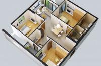 Bán căn 05, tầng 15 chung cư Rainbow Linh Đàm (3 phòng ngủ, 91m2)