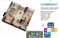 Không ở cần bán căn hộ 1106 Ruby 1 Hồ Tùng Mậu, diện tích 121,67m2, view đẹp, 22tr/m2. 0981017215
