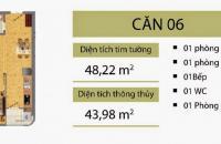 Bán CHCC CT2B Nghĩa Đô, 48.2m, giá cắt lỗ sâu: 1.35 tỷ, LH: 0971240066