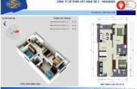 Cần bán gấp căn 3712 Tòa B Kim Văn Kim Lũ, Vinaconex 2, giá 23,3tr/m2.