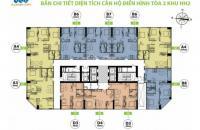 Bán chung cư FLC Garden City Đại Mỗ căn tầng 2007, DT: 78m2 giá bán: 16tr/m2, LH: 0981129026