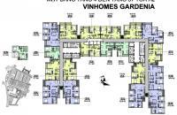 0981129026 Thu hồi vốn đầu tư bán lỗ 2CH Vinhomes Gardenia Mỹ Đình DT 73-106m2 tòa A1-A2