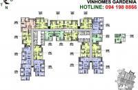 Cần bán CH19-11 (106m2) và CH20-08(73m2) A1 Vinhomes Gardenia Mỹ Đình, giá 2,5 tỷ, LH: 0961637026