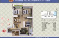 Bán căn 12 chung cư A1CT2 Tây Nam Linh Đàm, 95.67m2  hướng đông nam, giá rẻ nhất thị trường