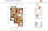 Cần bán suất ngoại giao Thống Nhất Complex tòa B 1806, giá chỉ 29.5 tr/m2. LH: 0943969963