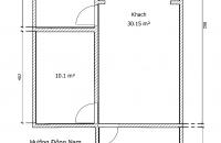 Bán căn hộ chung cư tại đường Lương Định Của, phường Kim Liên, diện tích 65,43m2 giá 1,73 Tỷ