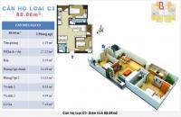 Cần bán gấp căn hộ tại chung cư The Pride diện tích 88m2 – Giá 21 triệu/m2 bao phí
