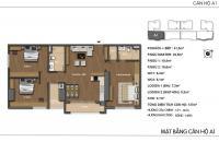 Bán căn hộ chung cư Hong Kong Tower, căn tầng 1801A DT: 127m2, giá bán 37tr/m2, LH: 0904517246