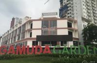 Shophouse Gamuda tòa 2, 75m2 trả chậm 36 tháng không lãi