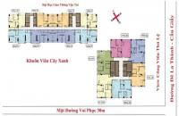 Bán căn hộ chung cư Hong Kong Tower, căn tầng 1004B DT: 74m2, giá bán: 40tr/m2, LH: 0934646229