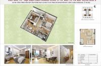 Bán căn 52,1m2 tòa H1 tầng 7 chung cư HUD3 Nguyễn Đức Cảnh