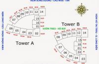 Cần bán gấp CC Mipec Long Biên 1609 (80,5m2)–B, 1815(74,43m2)- A, giá 32 tr/m2, 0969947369