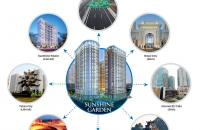 Chung cư Sunshine Garden sát cạnh Times City giá từ 1.4 tỷ/căn 51.45m2, full nội thất cao cấp