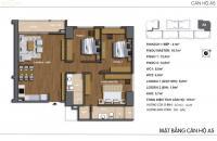 Chính chủ cần bán căn hộ Hong Kong Tower, căn 05 tháp A, 107m2 (3PN/2VS) giá 36tr/m2