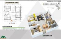 Bán căn hộ Chung cư Xuân Mai Complex căn 80m2 3PN tòa H giá 1.44 tỷ  LH: 0963.88.2222