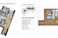 Bán căn hộ view Hồ Tây, chung cư Ecolife Tây Hồ, căn hộ 9.04 tòa C, 2pn, DT 88m2, giá bán: 26tr/m2