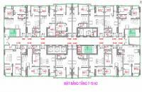 Bán căn hộ 49m2 thiết kế 1PN dự án NOXH Bright City, giá chỉ từ 13,7tr/m2, quý II/2018 bàn giao
