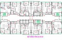 Bán căn hộ 69m2, 70m2 dự án NOXH Bright City giá chỉ từ 13.7tr/m2, quý II/2018 bàn giao nhà