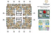Bán chung cư GoldSeason 47 Nguyễn Tuân, căn 64,88m2, 2PN, 0989 343 540