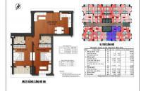 Bán căn hộ 82m2, sổ đỏ chính chủ, giá 690 triệu. LH 0961.648.203