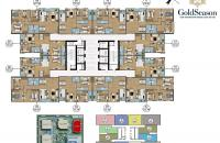 Bán CC Goldseason tòa Spring diện tích 73.59m2,2PN, 2WC, giá 2.2 tỷ