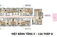 Bán gấp căn hộ chung cư Xuân Phương Tasco, căn tầng 1001D, DT 99.7m2, giá 18tr/m2, LH 0989540020