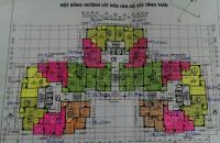 Bán căn hộ chung cư Z133, căn tầng 1106, DT 84.8m2 giá bán 15tr/m2, LH: 0989540020