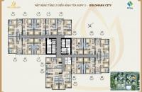 Bán gấp CC Goldmark City 1210-R2 (Căn góc) 93.24m2, giá 22tr/m2, 2 phòng ngủ, 2wc. 0974 501 891