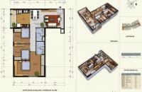 Chính chủ cần bán cắt lỗ căn 3PN N03 89.36m2, cửa chính tây bắc ban công đông nam mát mẻ 0968354963