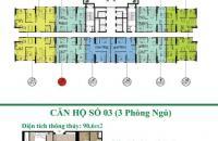 Bán gấp CC An Bình City, CH 1209 (83,7m2) và 1606 (74,7m2), A7, giá 26 tr/m2. 0969.947.369
