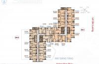 Bán gấp CHCC Hà Nội Center Point 3.7 Lê Văn Lương căn tầng 1508 DT: 79.98m2, giá 35tr/m2