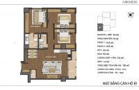 Bán căn hộ chung cư Hong Kong Tower, căn tầng 2001B DT: 105m2, giá bán: 36tr/m2, LH: 0934646229