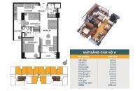 Bán căn hộ chung cư 789 Xuân Đỉnh Bộ Quốc Phòng, căn tầng 1102, DT 70.5m2, 27tr/m2. LH 0989540020