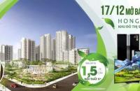 Bán căn hộ chung cư tại Dự án Hồng Hà Eco City, Thanh Trì, Hà Nội diện tích 167.414m2 giá 1.5 Tỷ