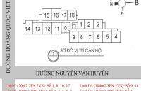 Bán căn 17 tầng 18 diện tích 70,84m2 chung cư 60 Hoàng Quốc Việt, giá 29 tr/m2 có thương lượng